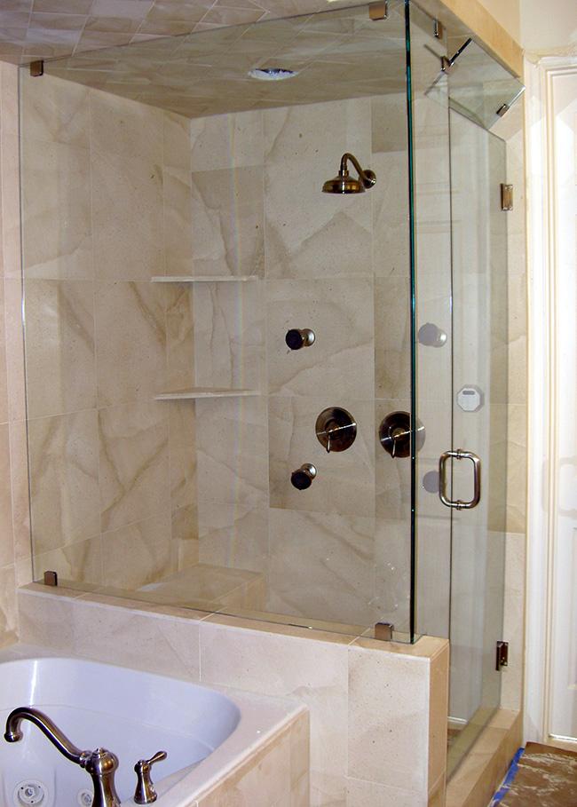 Frameless Shower Doors Look Great In Highland Park TX