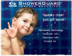 how shower guard glass can protect your bathroom against water spots and soap scum