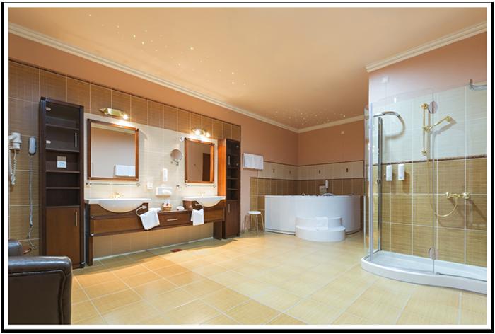 Bathroom Color Schemes & Frameless Shower Doors