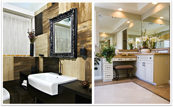 Bathroom Remodeling: Custom Glass Mirrors