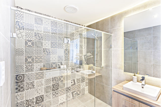 Designing your glass shower door is one of the best parts of the process.