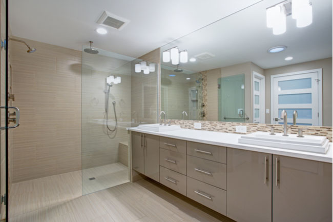 Do your research before you install glass shower doors.