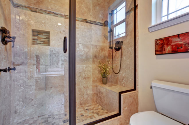 Choose the perfect glass shower door for your bathroom. There are several styles to choose from: frameless shower doors, framed shower doors, and more.