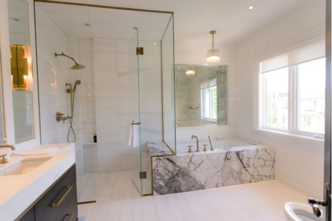 Repairing your glass shower door repairs can be easy.