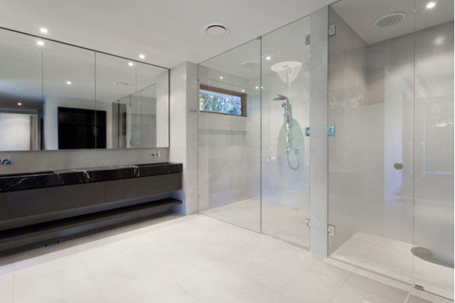 Whether you get frameless shower doors or framed shower doors, your glass shower door will be the focal point in your bathroom.
