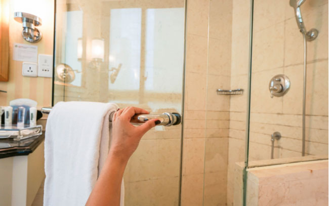Glass shower doors are cost effective and are easy to clean. Don't believe the shower enclosure myths!