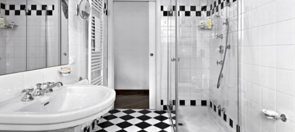 Glass shower doors are cost effective for your shower enclosure upgrade.