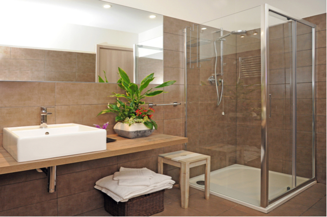 Glass shower door ideas for your shower enclosure upgrade.